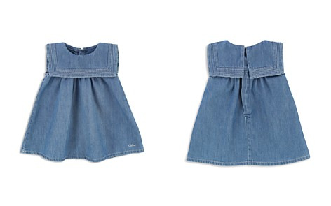 Chloé Girls' Sailor Collar Denim Dress - Baby - Bloomingdale's_2