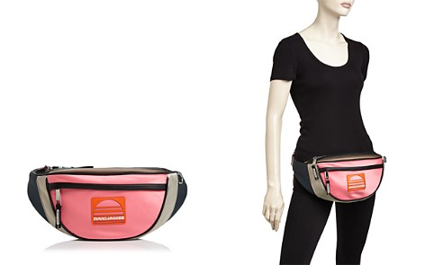 MARC JACOBS Sport Color-Block Satin Fanny Pack - Bloomingdale's_2