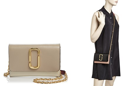 MARC JACOBS Leather Chain Wallet - Bloomingdale's_2