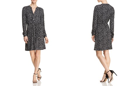 MICHAEL Michael Kors Mixed-Print Shirt Dress - Bloomingdale's_2