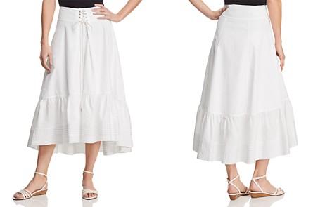 T Tahari Irena Ruffled Midi Skirt - Bloomingdale's_2