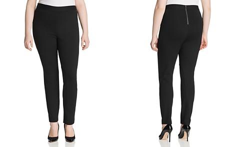 Foxcroft Plus Naomi Jodphur Ponte Pants - Bloomingdale's_2