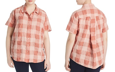 Lucky Brand Plus Plaid Button Down Shirt - Bloomingdale's_2