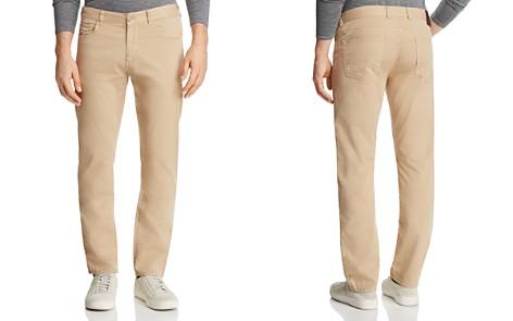 Canali Stretch Five Pocket Regular Fit Pants - Bloomingdale's_2