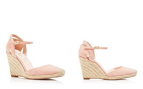 kate spade new york Women's Giovanna Suede Espadrille Wedge Pumps - Bloomingdale's_2
