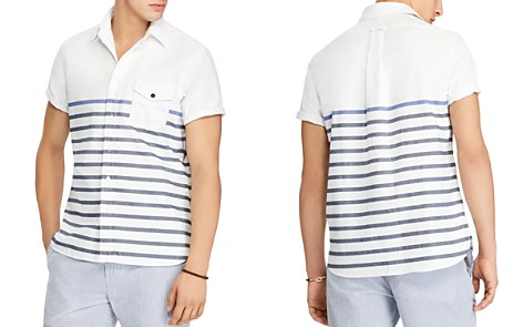Polo Ralph Lauren Striped Classic Fit Sport Shirt - Bloomingdale's_2