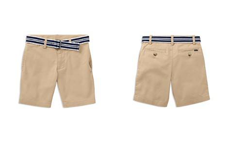Polo Ralph Lauren Boys' Slim-Fit Belted Stretch Shorts - Little Kid - Bloomingdale's_2
