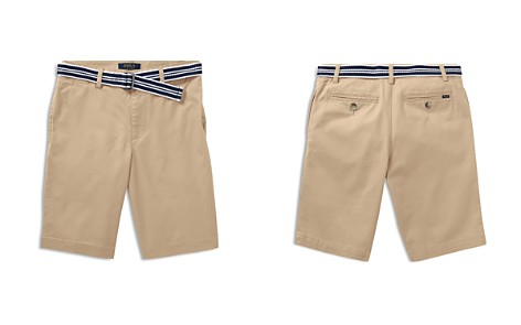 Polo Ralph Lauren Boys' Slim-Fit Belted Stretch Shorts - Big Kid - Bloomingdale's_2