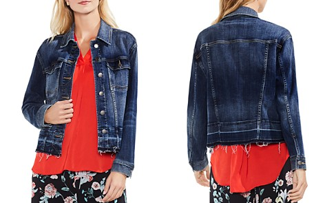 VINCE CAMUTO Indigo Denim Jacket in Mid Vintage - Bloomingdale's_2