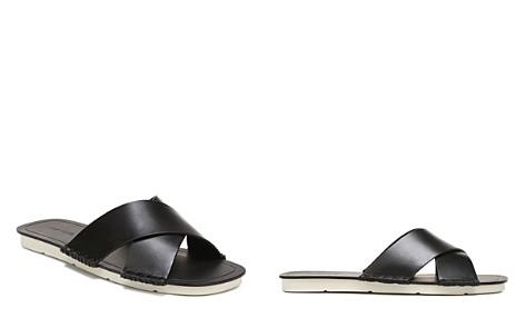 Vince Women's Nico Leather Slide Sandals - Bloomingdale's_2