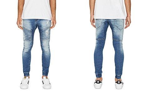 NXP Destroyer Tapered Fit Jeans in Blue Trash - Bloomingdale's_2