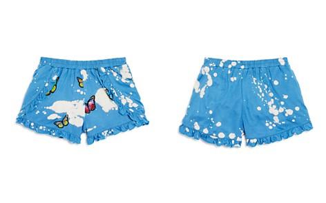 Flowers by Zoe Girls' Bleached & Ruffled Butterfly Shorts - Little Kid - Bloomingdale's_2