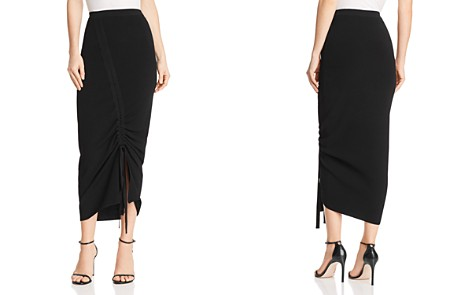 MILLY Ruched Knit Skirt - Bloomingdale's_2