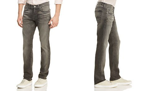 7 For All Mankind Slimmy Airweft Slim Fit Jeans in Cloudburst - Bloomingdale's_2