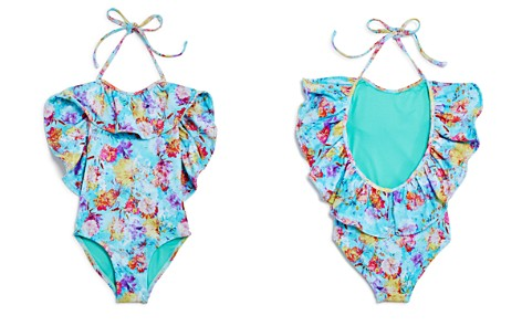 Peixoto Girls' Isabela Floral Oversize-Ruffle Swimsuit - Little Kid - Bloomingdale's_2