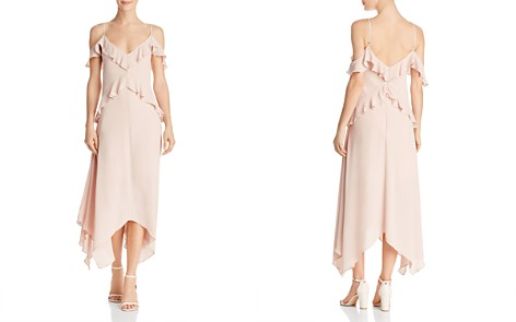 BCBGMAXAZRIA Lissa Handkerchief-Hem Slip Dress - 100% Exclusive - Bloomingdale's_2