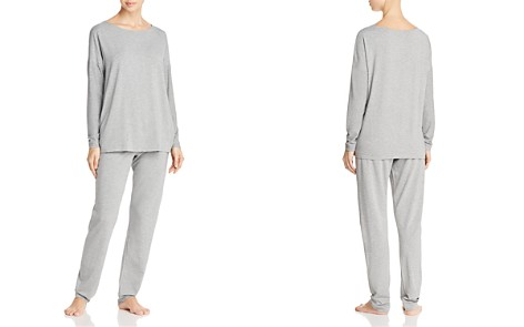 Hanro Natural Elegance Long PJ Set - Bloomingdale's_2