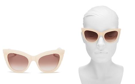 Pared Eyewear Women's Puss & Boots Cat Eye Sunglasses, 49mm - Bloomingdale's_2