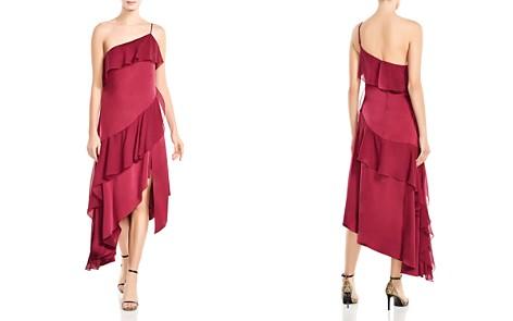 Haute Hippie Laura Asymmetric Ruffled Dress - Bloomingdale's_2