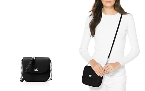 MICHAEL Michael Kors Half Dome Leather Crossbody - Bloomingdale's_2