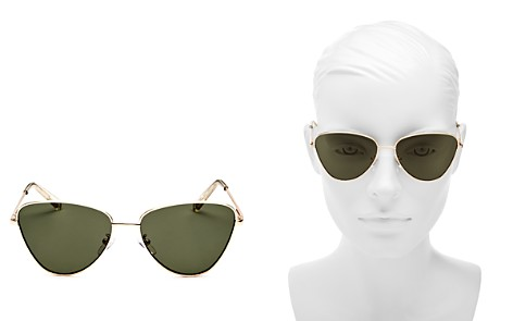 Le Specs Women's Echo Round Sunglasses, 54mm - Bloomingdale's_2