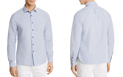 The Men's Store at Bloomingdale's Tattersall Long Sleeve Button-Down Shirt - 100% Exclusive_2
