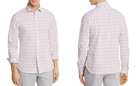 The Men's Store at Bloomingdale's Plaid Regular Fit Button-Down Shirt - 100% Exclusive_2