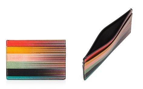 Paul Smith Faded Artist-Stripe Leather Card Case - Bloomingdale's_2
