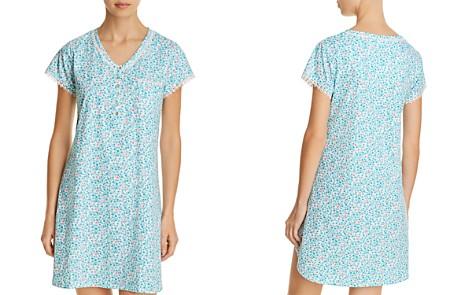 Eileen West Short Sleeve Nightshirt - Bloomingdale's_2