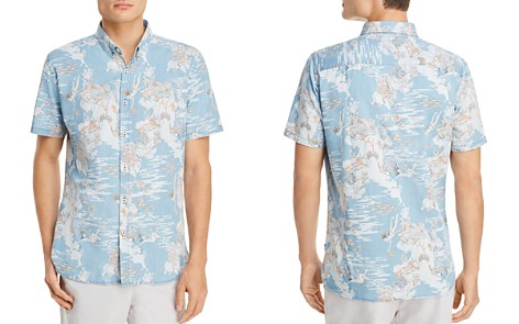 Barney Cools Tropical Holiday Short Sleeve Button-Down Shirt - Bloomingdale's_2