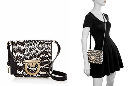 Salvatore Ferragamo Small Snakeskin Shoulder Bag - Bloomingdale's_2