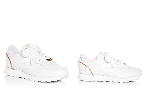 Reebok Women's Classic Leather Lace Up Sneakers - Bloomingdale's_2