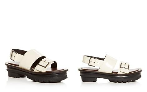 Marni Women's Leather Slingback Platform Sandals - Bloomingdale's_2