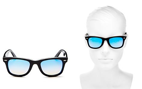 Ray-Ban Mirrored Wayfarer Sunglasses, 49mm - Bloomingdale's_2