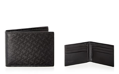 Salvatore Ferragamo Embossed Leather Bi-Fold Wallet - Bloomingdale's_2