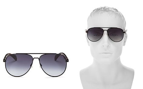rag & bone Street Classic Aviator Sunglasses, 65mm - Bloomingdale's_2