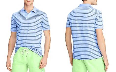 Polo Ralph Lauren Classic Fit Striped Stretch Mesh Polo Shirt - Bloomingdale's_2