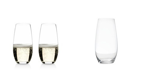 Riedel Stemless O Champagne Glass, Set of 2 - Bloomingdale's Registry_2