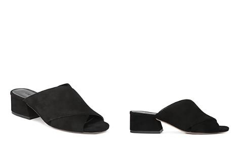Vince Women's Karsen Suede Block Heel Slide Sandals - Bloomingdale's_2