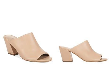 Vince Women's Baldriz Leather Block Heel Slide Sandals - Bloomingdale's_2