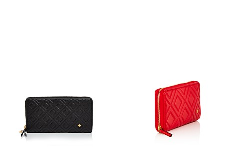 Tory Burch Fleming Zip Continental Leather Wallet - Bloomingdale's_2