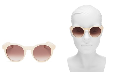 Pared Eyewear Women's Lime & Coconut Round Sunglasses, 48.5mm - Bloomingdale's_2