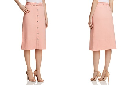 Elizabeth and James Merritt Denim Skirt - Bloomingdale's_2