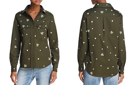 Joie Hayfa Embellished Shirt - Bloomingdale's_2