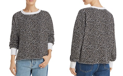 Current/Elliott The Channing Leopard Print Sweatshirt - Bloomingdale's_2