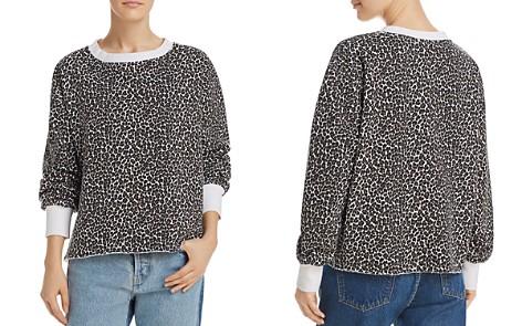 Current/Elliott The Channing Leopard Print Sweatshirt - Bloomingdale's_2