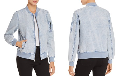 Levi's Acid Wash Denim Bomber Jacket - Bloomingdale's_2