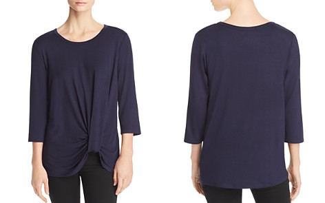 Kim & Cami Cinched-Front Top - Bloomingdale's_2