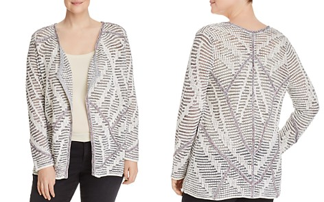 NIC+ZOE Plus Desert Dot Open Cardigan - Bloomingdale's_2
