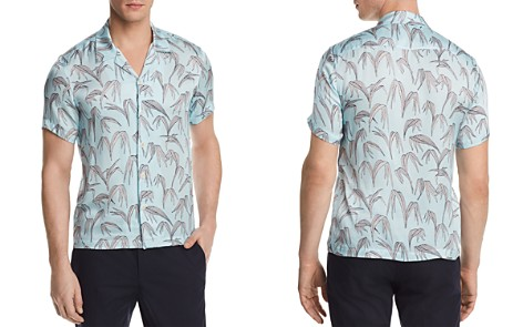 Sandro Palm Slim Fit Button-Down Shirt - 100% Exclusive - Bloomingdale's_2